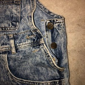 Vintage Shorts - Vintage overalls